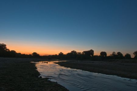 Abendstimmung am Sabi Sands River