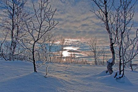 FINMARK eines der kältesten Gebiete Norwegens